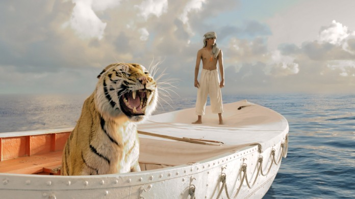 The Boy and the Tiger: Life of Pi